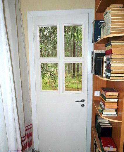 Вариант декора двери