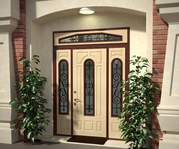 Нестандартная входная дверь
