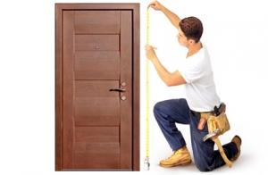 замеры входной двери