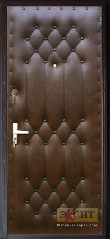 дермантин для железной двери