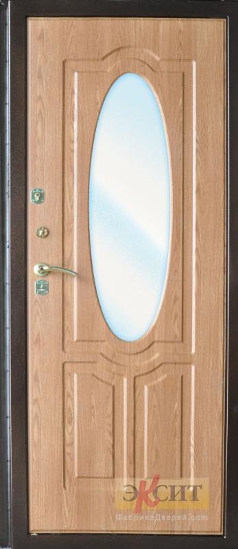 дверь входная мдф зеркало
