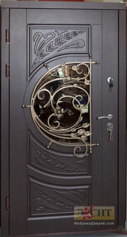 металлические двери с ковкой москва недорого
