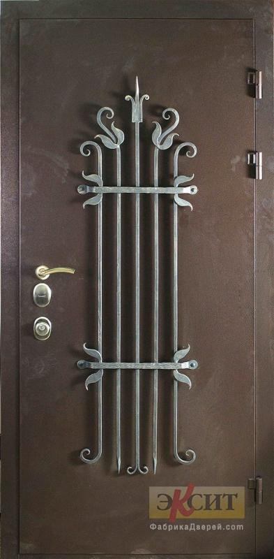 стальные двери российского производства с ковкой
